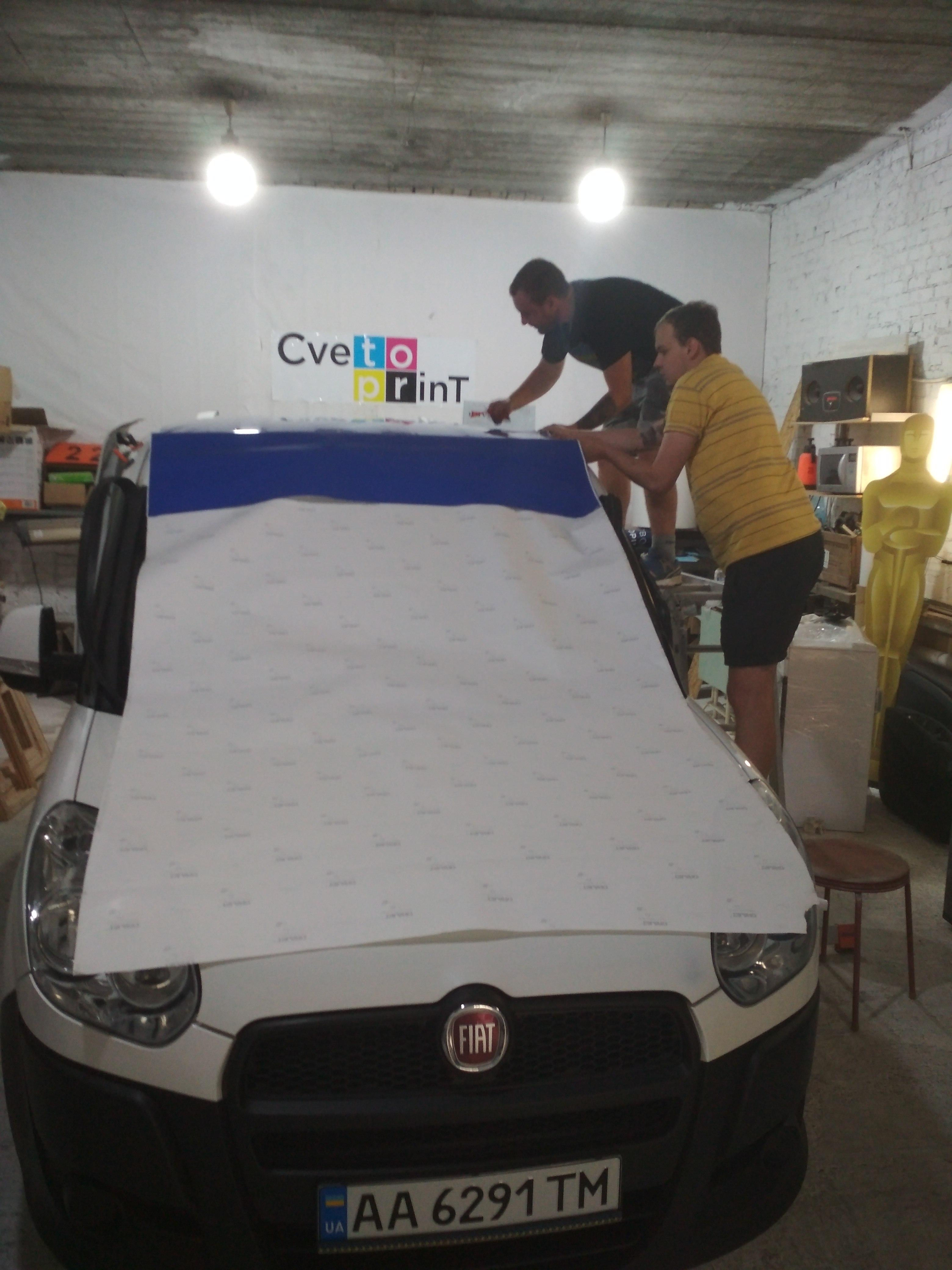 Как клеить пленку на крышу авто